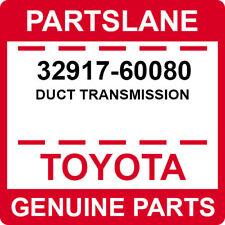 32917-60080 Toyota OEM Genuine DUCT TRANSMISSION