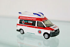 RIETZE 53628 - H0 1:87 - Ambulanz Mobile Hornis Blue Easy Ambulance - NEU in OVP