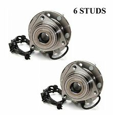 Front Wheel Hub Bearing Assembly Fit GMC ENVOY 2002-2009 (PAIR)