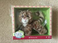 """American Girl Lea Margay Cat Pet GOTY 2016 New in Box for 18"""" Doll"""