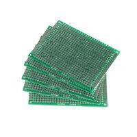 1pc 6x8cm Double-Side Protoboard Circuit Universal DIY Prototype PCB Board VK sa