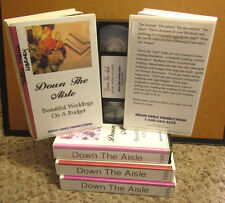 DOWN THE AISLE how-to planning Beautiful Weddings On A Budget VHS matrimony DIY