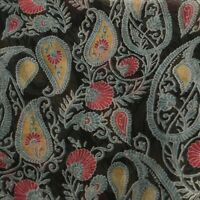 Talla Unica Womens Infinity Scarf Black Blue Pink Gold Paisley