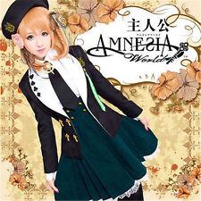 New EXCLUSIVE Amnesia HEROINE Anime Uniform Cosplay Cute Costume#66219