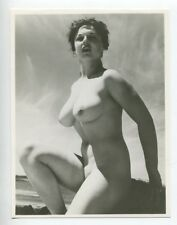 "Lorraine Burnett  By Harrison Marks  6"" x 4"" 1950 Original Nude Photo  B8113"