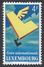 Luxembourg 1954 Mnh Mi 524 Sc 299 International Fair, Luxembourg Cv 15$