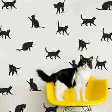30 X SINGOLO Kitty amante dei gatti Wall Art Stickers Vinyl Decal Decor IDEA