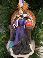Disney Store Wicked Queen in Throne Christmas Tree Ornament New Snow White
