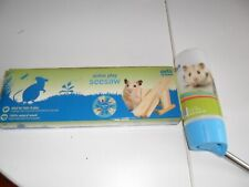HAMSTER / GERBIL ACTIVE PLAY SEESAW AND WATER BOTTLE FROM PETS AT HOME NEW IN BO