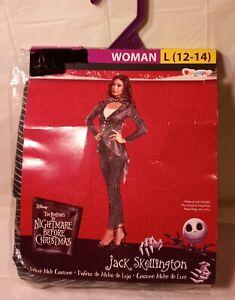 Nightmare Before Christmas,Jack Skellington Adult Halloween Costume,Large