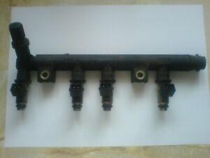 Fiat Punto Fuel Injectors/rail. 1.2 8v. 99-06. MK2,MK2b.
