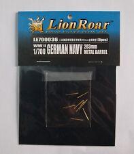 Lionroar PE 1/700 WWII German Navy 203mm Metal Barrel  LE700036