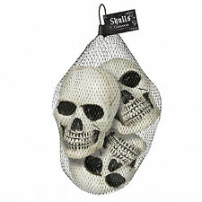 Boneyard Multi Pack Skull Favours Party Decorations x 3
