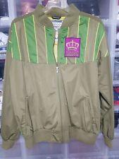 Rare WORLD OF TROOP Champion Jacket 90s Green/ purple/ yellow Size XXL