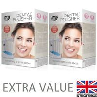 2 x Rio Beauty Dental Tooth Polisher Teeth Cleaner Hygiene Kit Device VALUE PACK