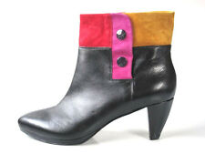 GORGOEUS new $455 MISS SIXTY leather ANKLE BOOTS 40 10