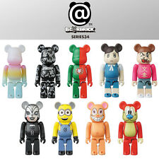 Bearbrick Be@rbrick 37 17P Set 17pcs SF Artist Noodle hermippe Horror NJPW Hero