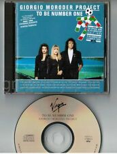 GIORGIO MORODER PROJECT To Be Number One JAPAN CD VJCP-31 P.Engemann G.Nannini