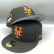 New York Giants 1954 World Series New Era MLB 59Fifty Black Hat Gray Bottom