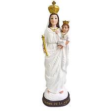 8 Inch Virgen De La Nube Estatua Sculpture Virgin Nube Statue in Resin Home Deco
