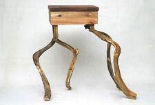 Piccolo Fauno sgabello da Fund pezzi UPCYCLING altholz Wild legno robinie