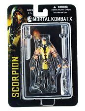 Mortal KOMBAT X SCORPIONE 4 pollici Action Figure Hell-ha sfornato Spectre MEZCO
