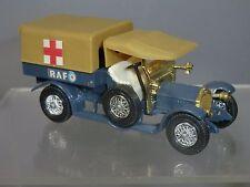 MATCHBOX MODEL OF YESTERYEAR  No.Y-13 CROSSLEY RAF  TENDER  / AMBULANCE