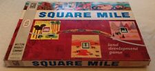 VINTAGE Square Mile Land Development Board Game No. 4200 - Milton Bradley (1962)