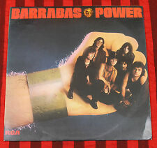 Barrabas Power LP Vinyl Record Funk Psychedelic Greece Greek Pressing RCA Rare