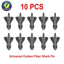 10 Pcs Universal Carbon Shark Fin Vortex Generator  Roof Diffuser Spoiler Wings