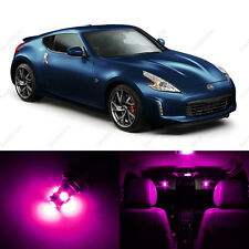 5 x Pink/Purple LED Interior Light Package For 2009 - 2013 Nissan 370Z