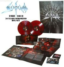 SODOM 30 Years Sodomized 1982-2012 * SEALED BOX 3CD+ COLOR VINYL 2LP limited