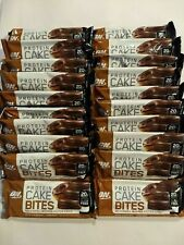 Lot 20 Packs ON Optimum Nutrition Protein Cake Bites Bars Chcolate BB 4/20