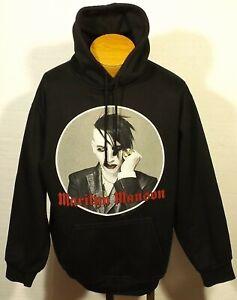vintage Marilyn Manson 2005 hoodie sweatshirt Against All Odds size MEDIUM