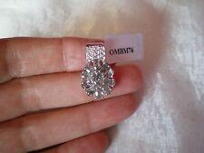 Rutile Quartz & Topaz pendant, 2.88 carats, in 2.47 grams of 925 Sterling Silver