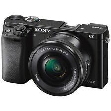 Sony Alpha a6000 ILCE-6000L/B 24.3 MP Digital Camera w/16-50mm Lens NEW USA