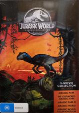 The Jurassic Park / Jurassic Park - Lost World / Jurassic Park III / Jurassic World / Jurassic World - Fallen Kingdom (DVD, 2019, 5-Disc Set)
