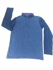 Next Age 13 Long Sleeve Polo Top Smart Party Christmas Blue Navy