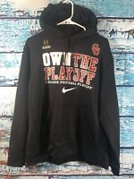 15S- Oklahoma University Sooners OU Logo Nike Playoff Therma Fit Hoodie Size XL