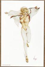 1960's Alberto Vargas Authentic Pin-Up Poster Art Print 11x17
