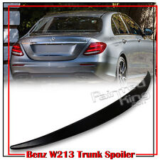 Painted Mercedes BENZ E-Class W213 4D OE Style Trunk Spoiler E300 E43AMG 17-18