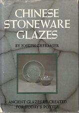 A3 Making Chinese Stoneware Glazes - J.P. Grebanier Hardback, 1975 Dust J 1st Ed