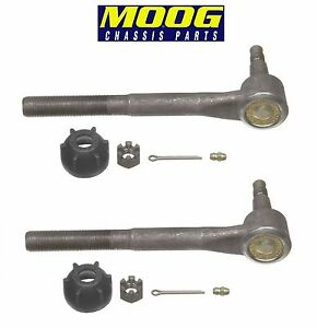 For Chevy GMC K1500 K2500 Tahoe Yukon Set Of 2 Front Inner Tie Rod Ends Pair