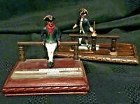Royal Navy: Navy Gunner & British Post Captain Die Cast Diorama