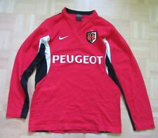 667f7a642bc Stade Toulousain RUGBY Toulouse LONG SLEEVE shirt jersey NIKE adult SIZE M