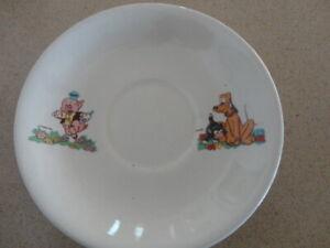 Beswick Walt Disney Saucer- Piper Pig, Figaro & Pluto