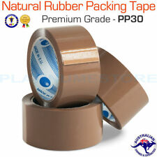 Unbranded Natural Rubber Carton Sealing Tapes