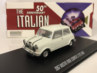 The Italian Job 1969 Movie Mini Cooper S MkI White 1:43 Scale Greenlight 86551