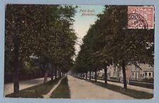 VINTAGE POSTCARD - PARK ROAD ABINGDON OXFORDSHIRE - Posted 1922 - Carte Postale