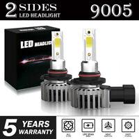 2x 9005 9145 LED Headlight Kit 2200W 330000LM High Low Fog Bulb HB3 H10 6000K